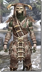 Barbaric Rawhide - Argonian Male Close Front