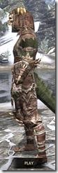 Barbaric Rawhide - Argonian Male Side