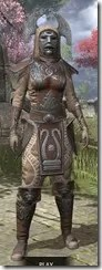 Celestial Rawhide - Khajiit Female Front