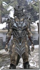 Daedric Iron - Argonian Male Close Front