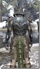 Daedric Iron - Argonian Male Close Rear