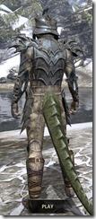 Daedric Iron - Argonian Male Rear
