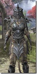 Daedric Iron - Khajiit Female Close Front