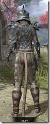 Daedric Iron - Khajiit Female Rear