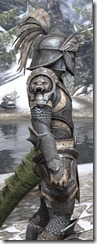 Daggerfall Covenant Iron - Argonian Male Close Side