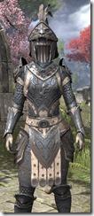 Daggerfall Covenant Iron - Khajiit Female Close Front