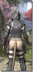 Daggerfall Covenant Iron - Khajiit Female Close Rear