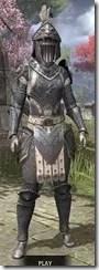 Daggerfall Covenant Iron - Khajiit Female Front