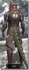 Dark Brotherhood Rawhide - Argonian Male Rear