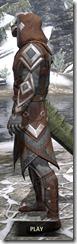 Dark Brotherhood Rawhide - Argonian Male Side