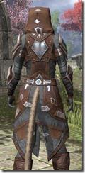 Dark Brotherhood Rawhide - Khajiit Female Close Rear