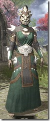 Anequina Homespun - Khajiit Female Robe Front