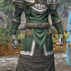 Icereach Coven Homespun - Male Robe Front