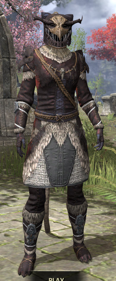 Icereach Coven Medium - Khajiit Female Front
