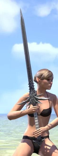 New Moon Priest Iron Greatsword 2