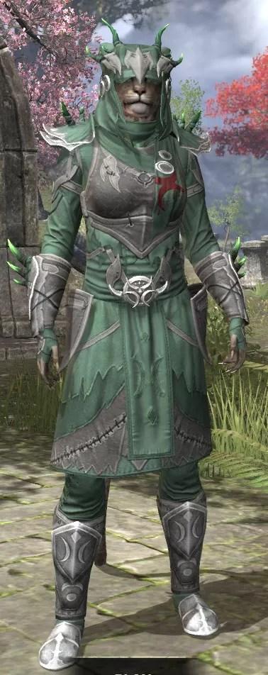 New Moon Priest Rawhide - Khajiit Female Front