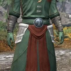 Pyre Watch Homespun - Argonian Male Robe Front