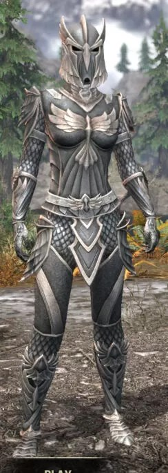 Ancestral High Elf Iron - Female Front