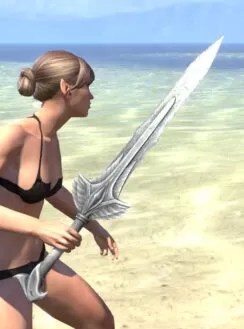 Ancestral High Elf Iron Sword 2
