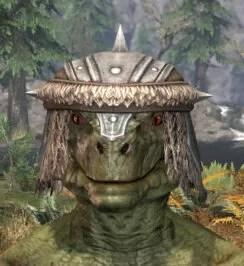Ancestral Nord Homespun Hat - Argonian Male Front