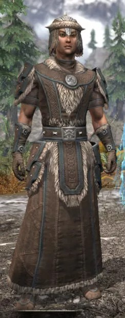 Ancestral Nord Homespun - Male Robe Front