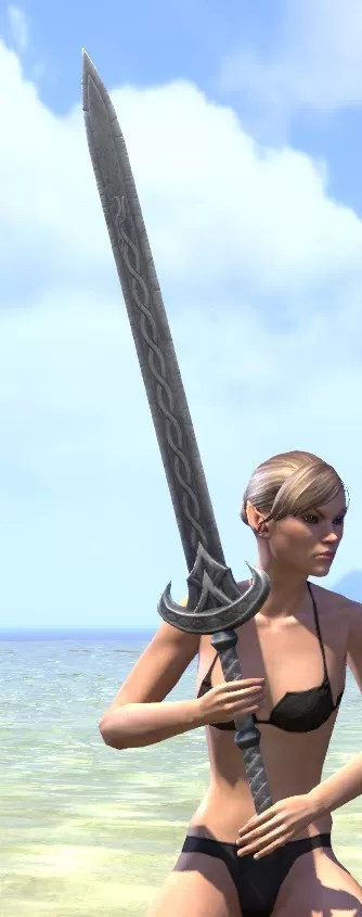 Ancestral Nord Iron Greatsword 2