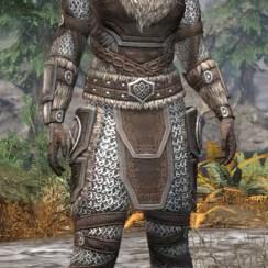 Ancestral Nord Rawhide - Khajiit Female Front