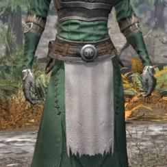 Blackreach Vanguard Homespun - Female Robe Front