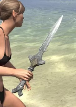 Blackreach Vanguard Iron Dagger 2