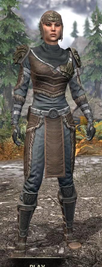 Blackreach Vanguard Rawhide - Female Front