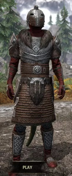 Swordthane Heavy - Argonian Male Front