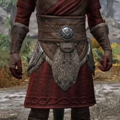Swordthane Light - Argonian Male Shirt Front
