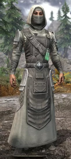 Hazardous Alchemy Honespun - Male Robe Front