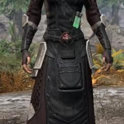 Hazardous Alchemy Light - Female Robe Front