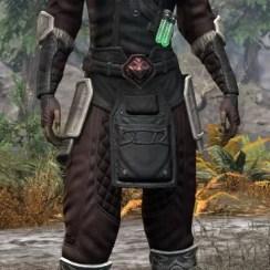 Hazardous Alchemy Light - Khajiit Female Shirt Front