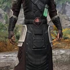 Hazardous Alchemy Light - Male Robe Front