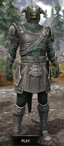 Hazardous Alchemy Rawhide - Argonian Male Front