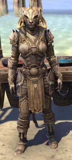 Sovngarde Stalwart - Khajiit Female Front