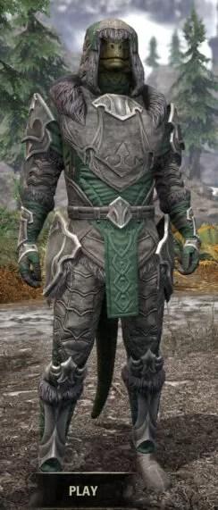 Thorn Legion Honespun - Argonian Male Shirt Front