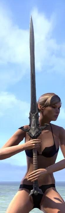Thorn Legion Iron Greatsword 2