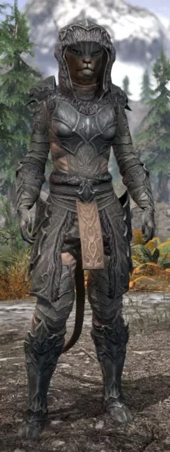 Thorn Legion Iron - Khajiit Female Front