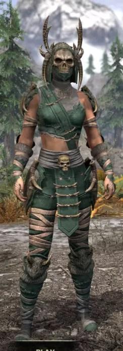 Ancestral Reach Homespun - Female Shirt Front