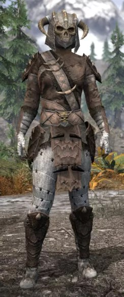Ancestral Reach Iron - Khajiit Female Front