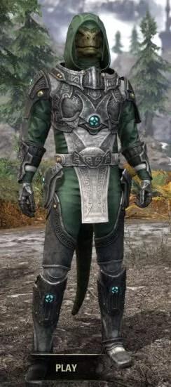 Arkthzand Armory Homespun - Argonian Male Shirt Front
