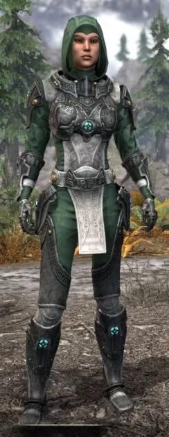 Arkthzand Armory Homespun - Female Shirt Front