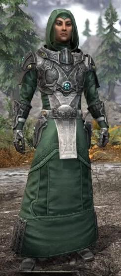 Arkthzand Armory Homespun - Male Robe Front