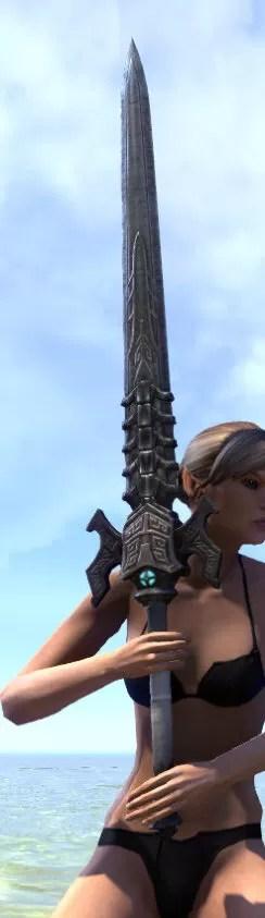 Arkthzand Armory Iron Greatsword 2