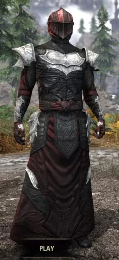 Nighthollow Light - Argonian Male Robe Front