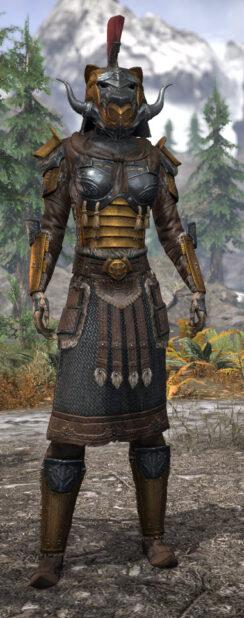 Akaviri Potentate - Khajiit Female Front