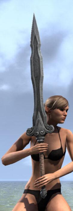 Ancestral Akaviri Iron Greatsword 2